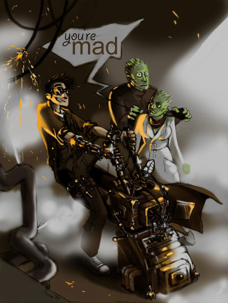 steampunk doctor coloured by mrozna on deviantart