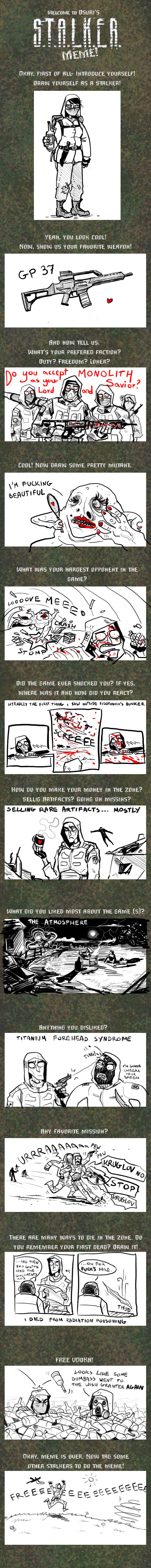 S.T.A.L.K.E.R. meme by mrozna