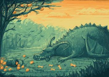 Sleeping Dragon by Duffator