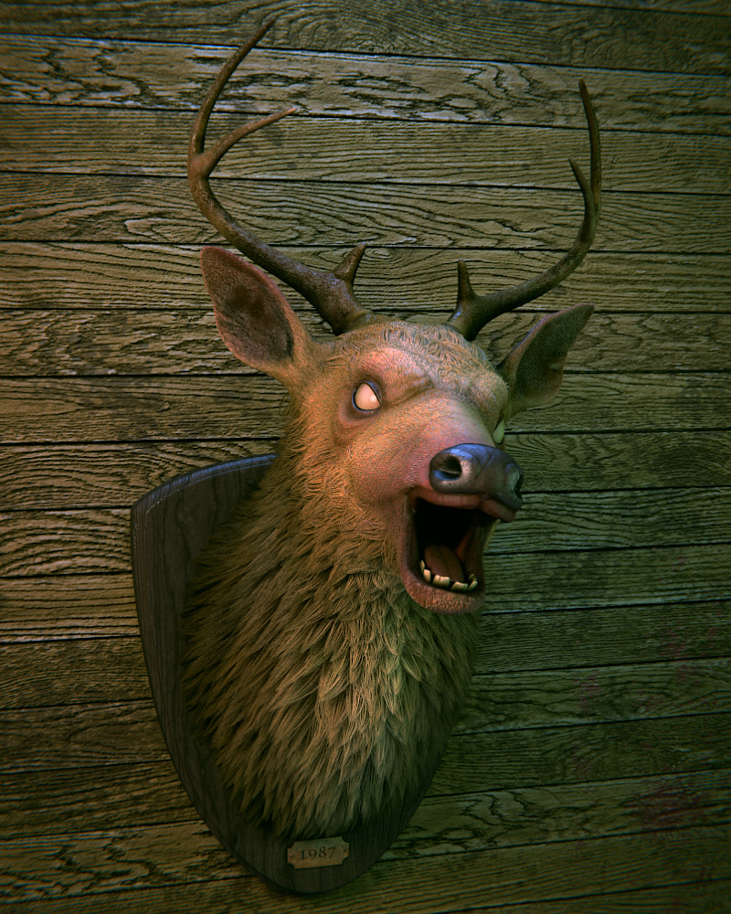Evil Deer by Duffator