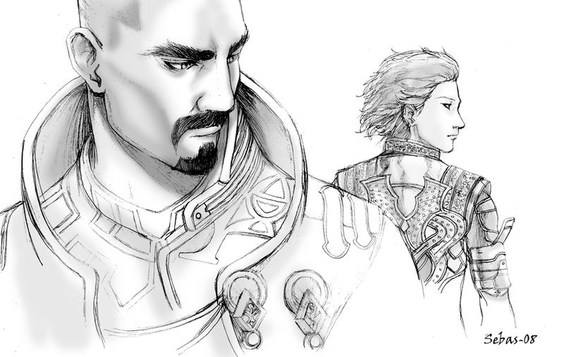 lost odyssey wallpaper. Lost Odyssey sketch 2 by