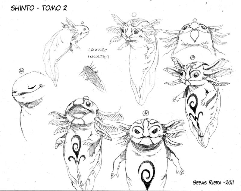 Shinto 2 creature by sebasrd24