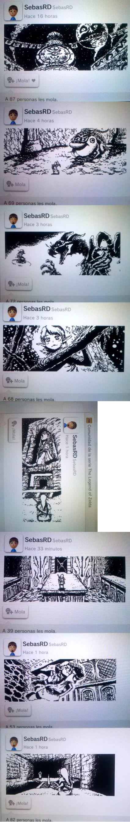 Zelda Miiverse drawings 02 by sebasrd24
