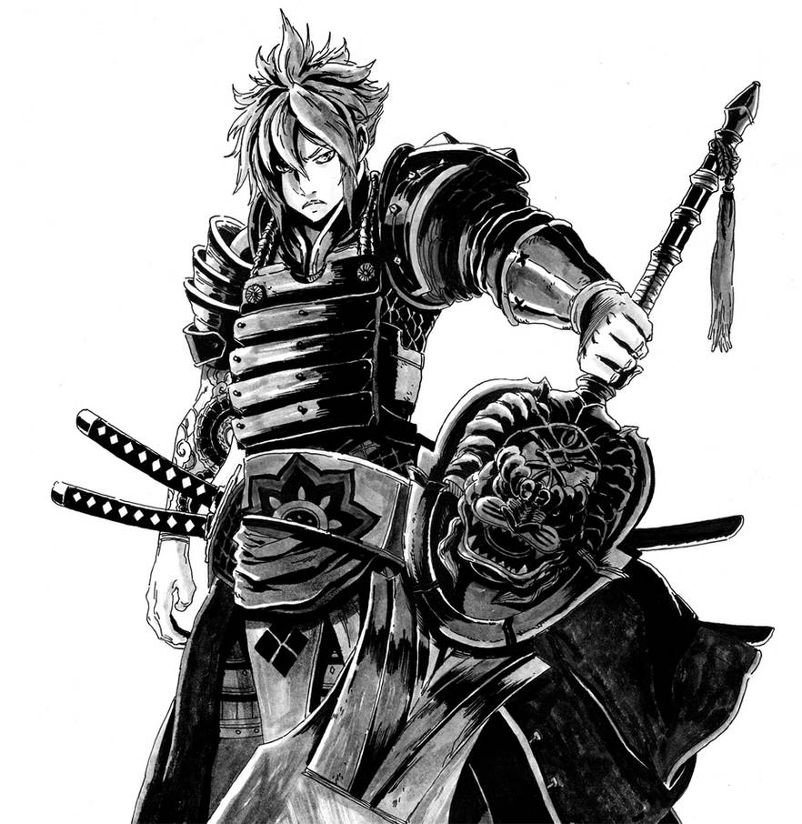 Cloud Strife Samurai