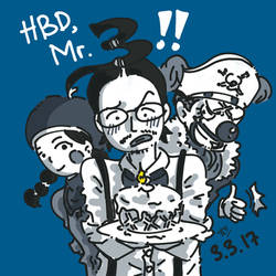 HBD Mr.3!! by a5paper
