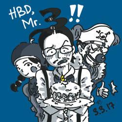 HBD Mr.3!!