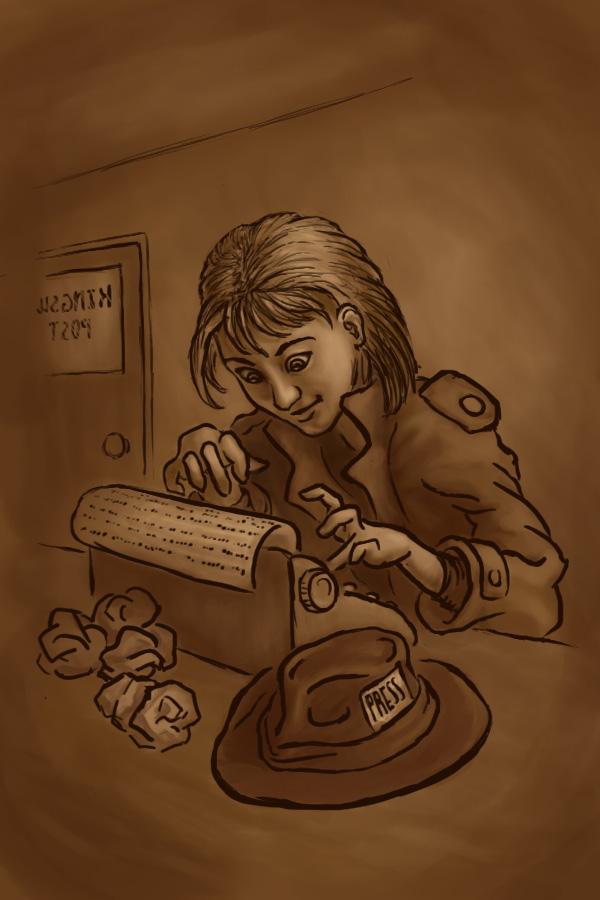 Annie Get Your Typewriter by rillani