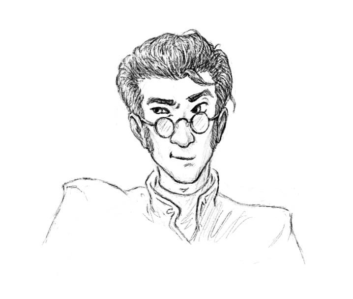 Professor Moore by rillani