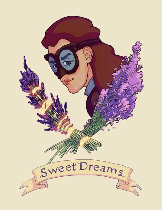 Nwain Sweet Dreams Print by rillani