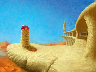 The Wind Temple by rillani