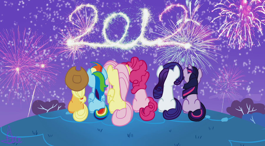 Happy New Year 2012 by Freakization