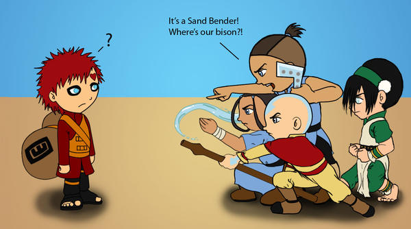 Sand Bender? by Obi-quiet