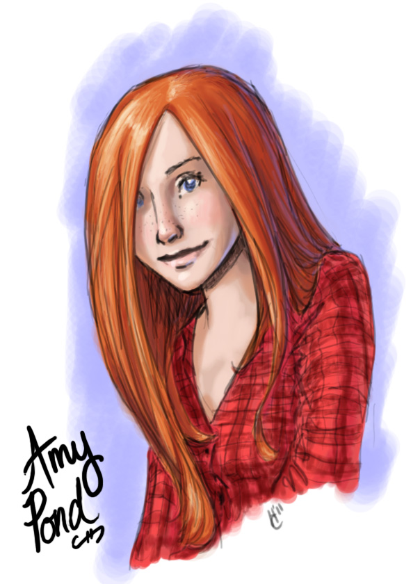 Amy Pond by Obi-quiet