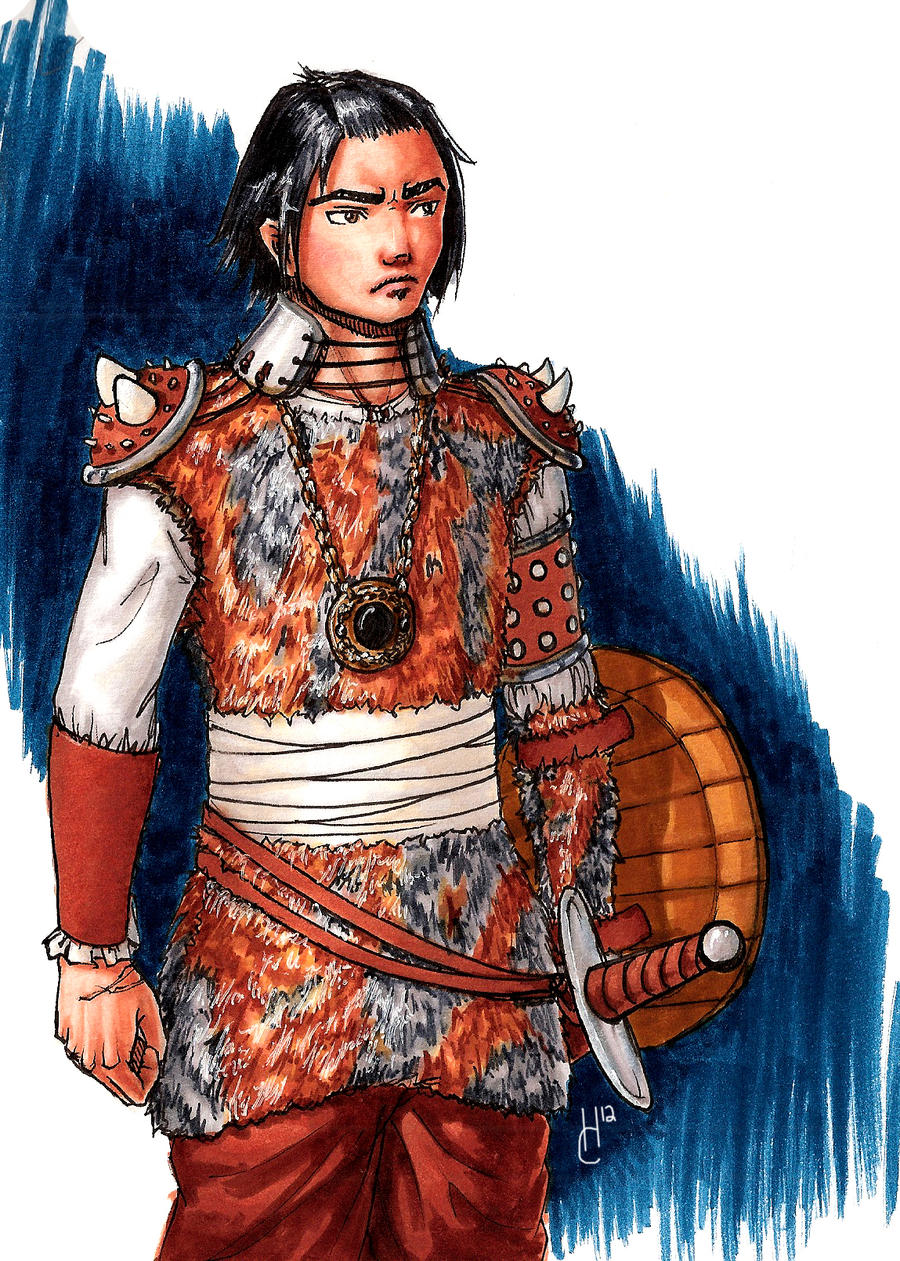 Mongol warrior by Obi-quiet