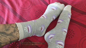 When coffee and socks collide!
