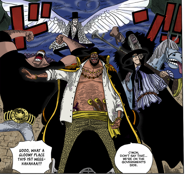Blackbeard And Luffy: The Blackbeard Pirates Colored By SpoonyBardOL On DeviantArt