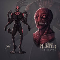 THE DEVIL | THE NEXT REAPER by DeusJet