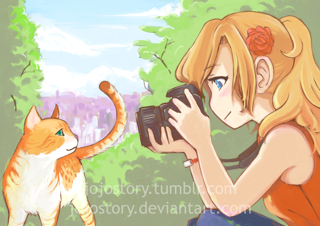 Photography Girl by jojostory