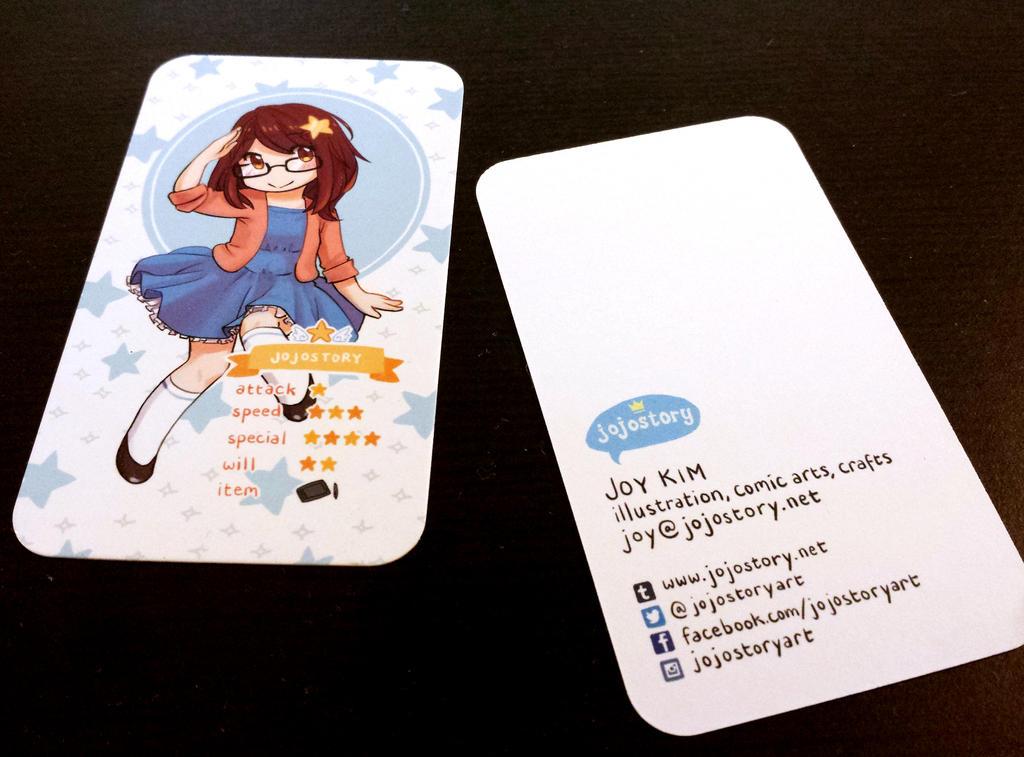 Business Cards by jojostory on DeviantArt