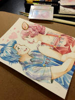 Sacanime Commission - Reese and Cyrus by jojostory