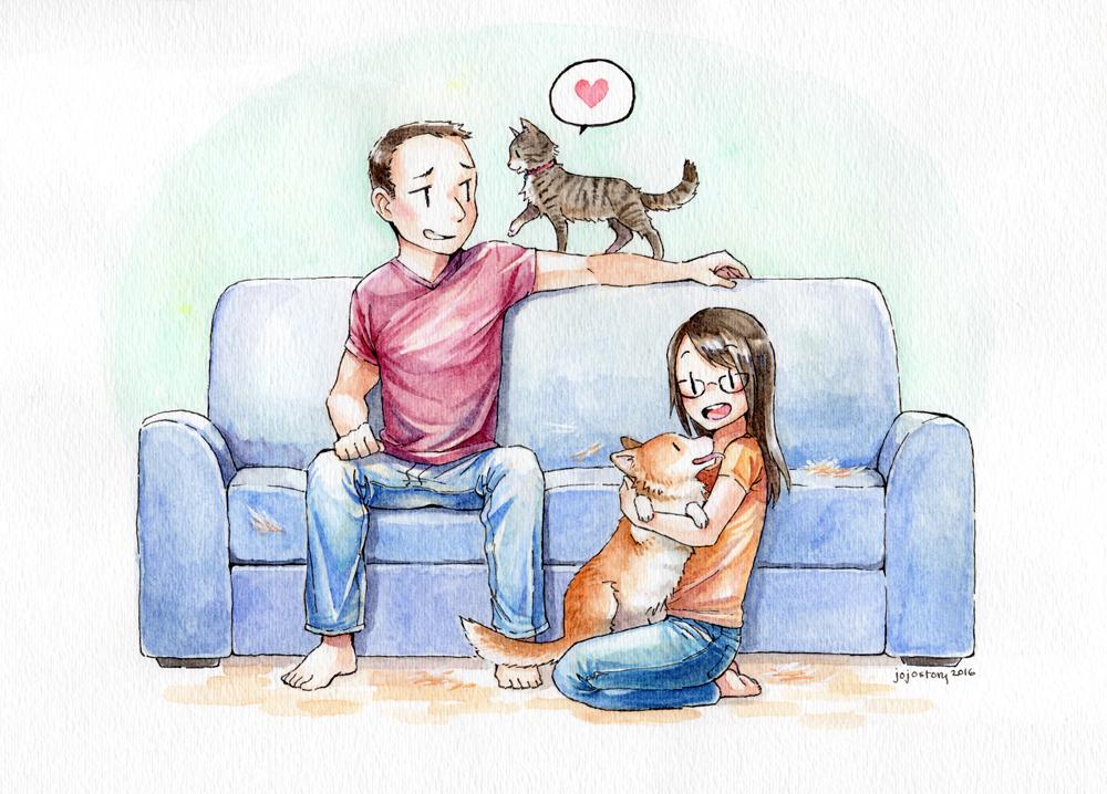 Commission - Family Portrait by jojostory