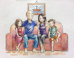 Commission - Family Portrait for Katy by jojostory