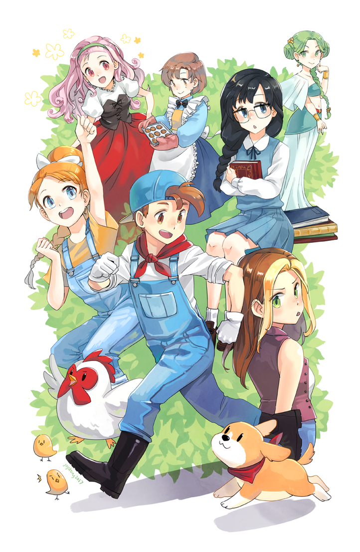 Harvest Moon Life by jojostory