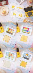 Nintendo Birthday Cards by jojostory