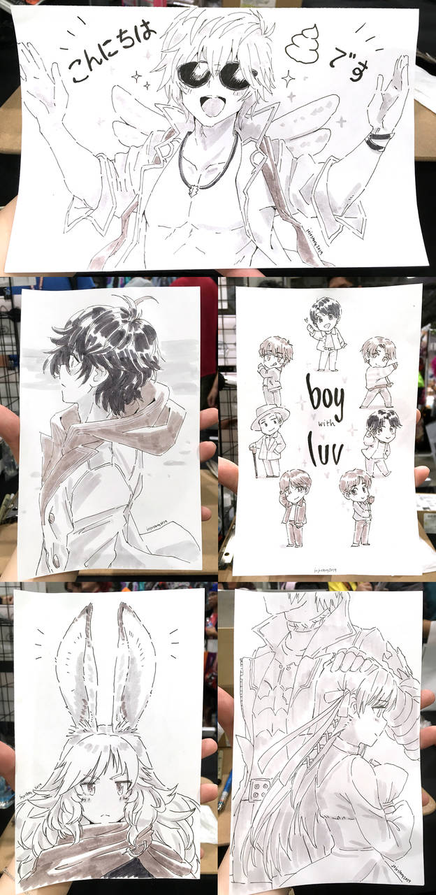 Anime Expo 2019 Sketches