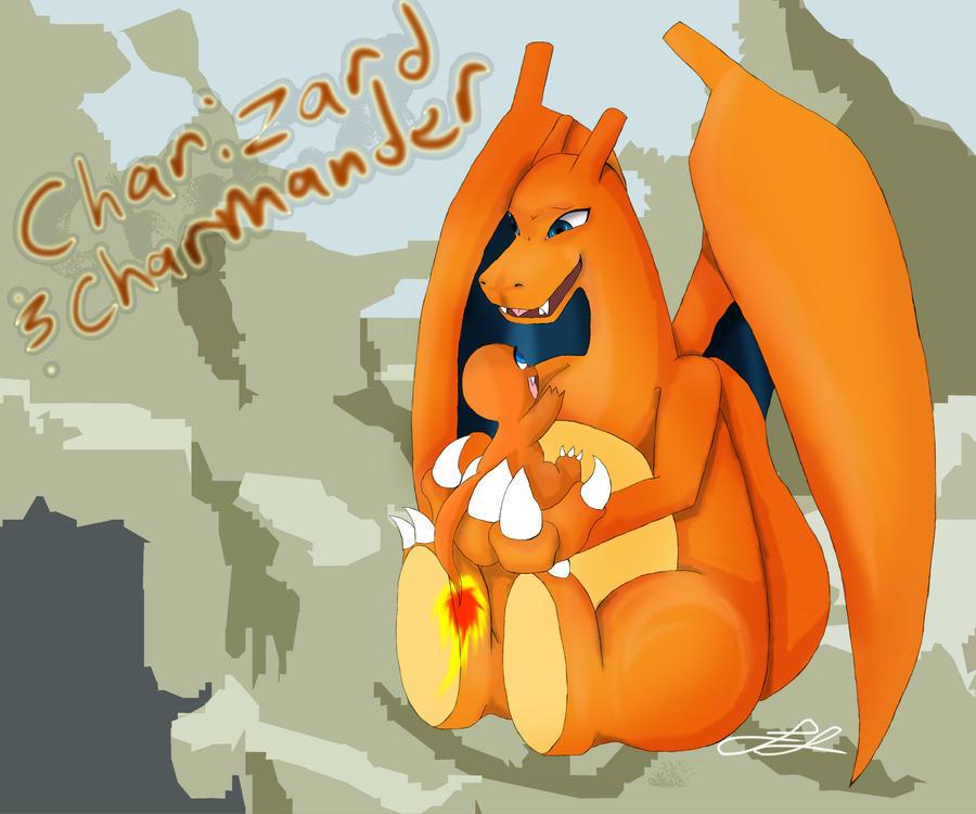 Pin Charmander Charmeleon And Charizard Pokémon ...