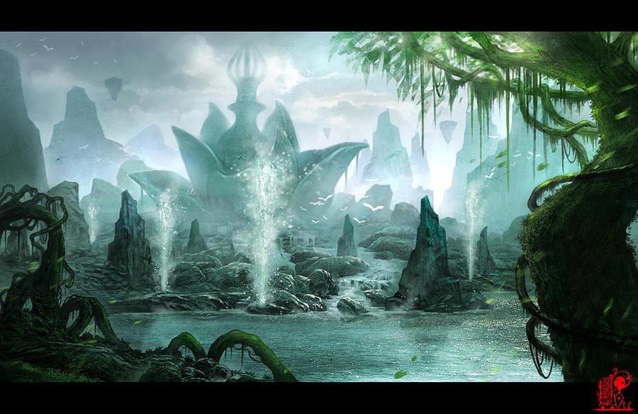Fairy island by zhaoenzhe