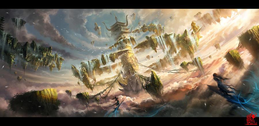 Armageddon Shushan by zhaoenzhe