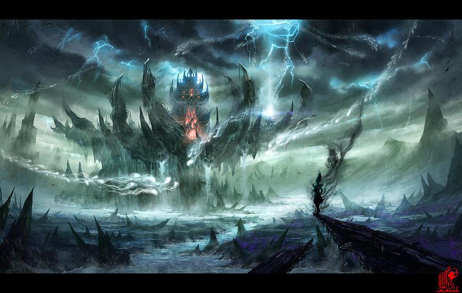 Hell Stygian by zhaoenzhe