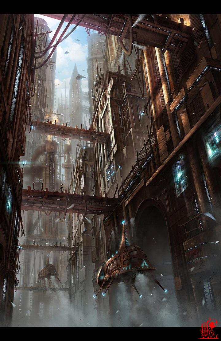 City of steam by zhaoenzhe