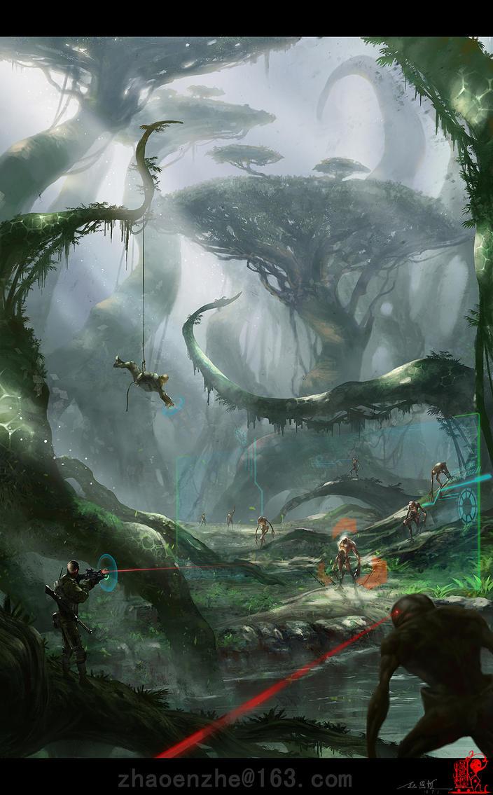 Millennium War by zhaoenzhe