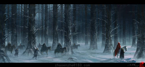 Return home by zhaoenzhe