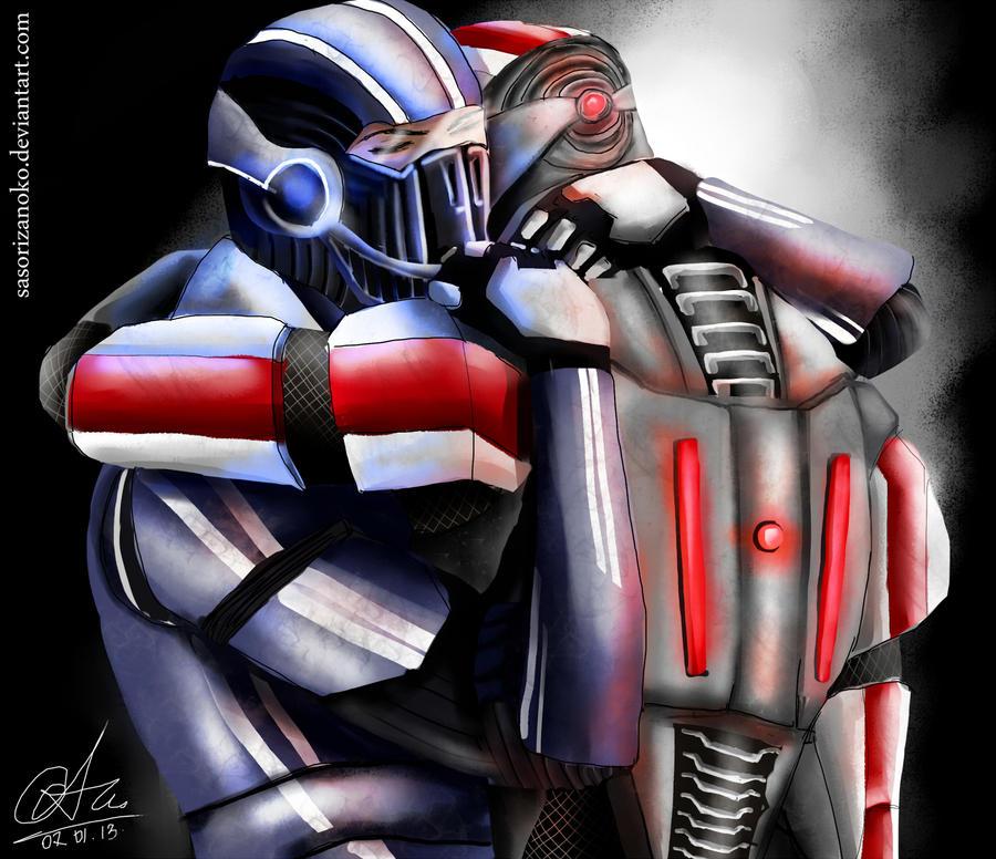 We know this is goodbye - Kaidan and Shepard - ME3 by sasorizanoko