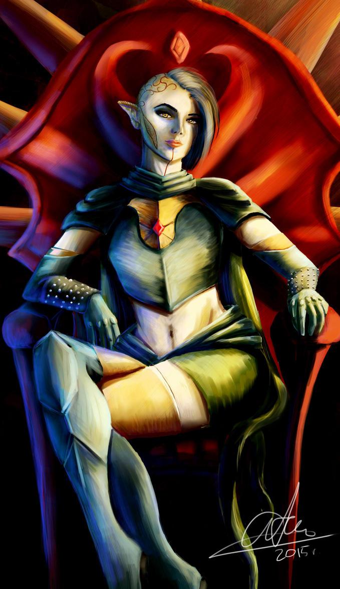 Dragon Age Inquisition by sasorizanoko