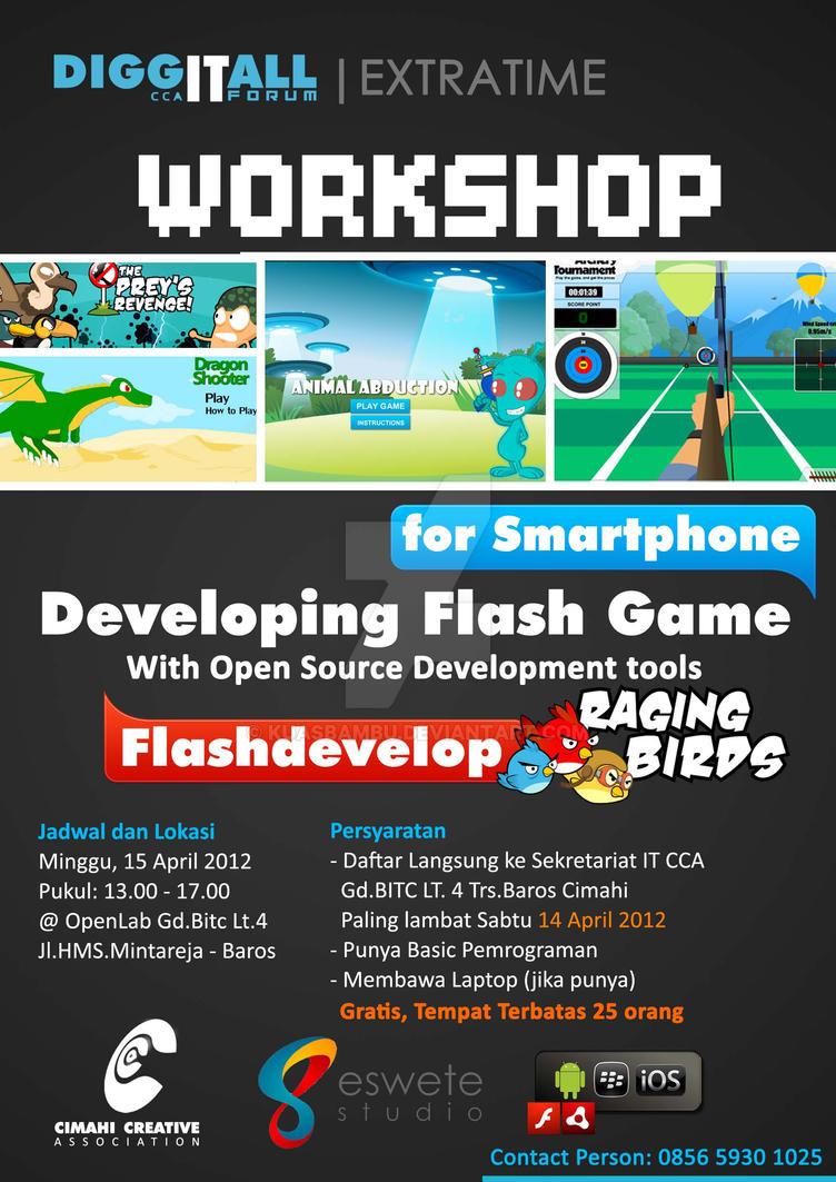 Poster design workshop - Game Workshop Poster Design By Kuasbambu