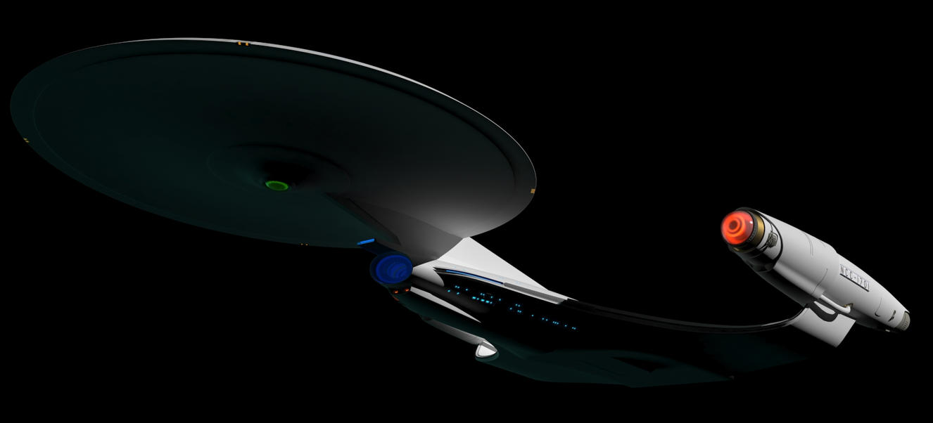 New Enterprise WIP 51 by LordSarvain