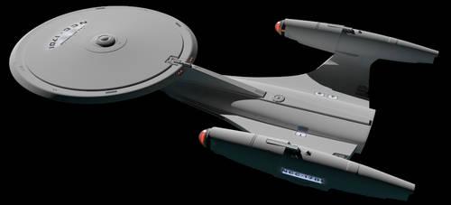 New Enterprise WIP 058 by LordSarvain