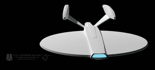 USS Enterprise F WIP 015 by LordSarvain