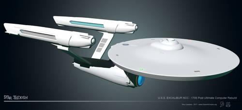 USS Excalibur NCC 1705 WIP 021