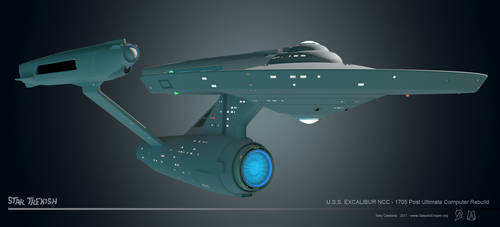 USS Excalibur NCC-1705 WIP 023