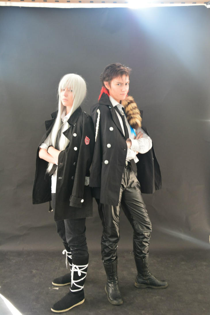 KHR! - Xanxus and Squalo by KyoyaKun