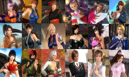 Top 18 DOA Girls