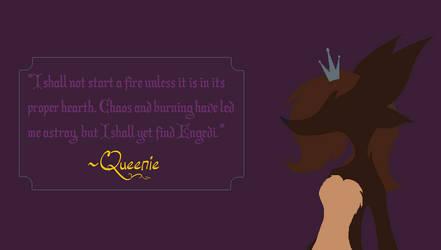 Queenie Quote by SweetButtonPie
