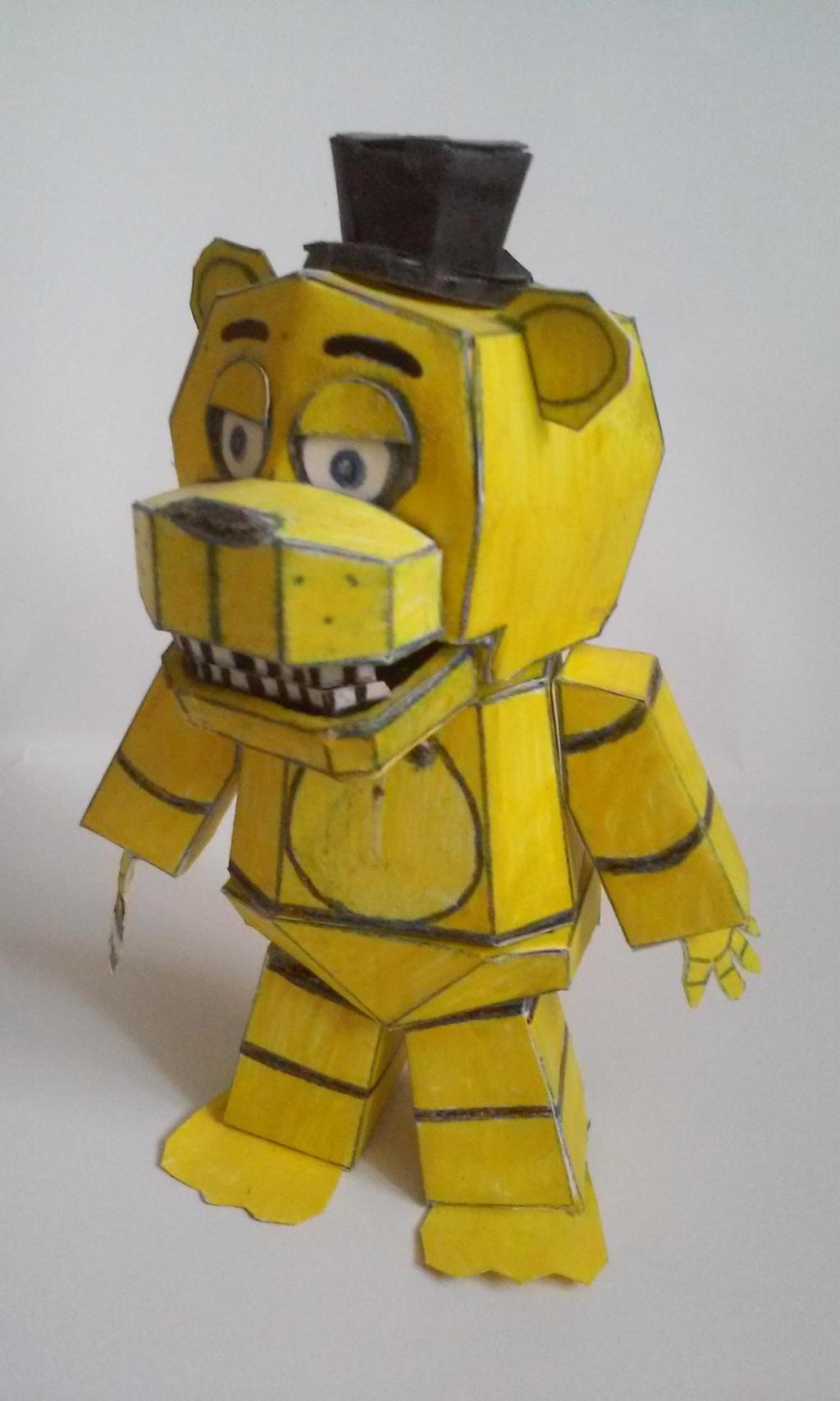 Fnaf World Crafts Freddy Minecraft Skin