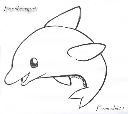Baby Dolphin by babyoreo on DeviantArt