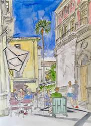 Calle San Agustin @ Calle Echegaray
